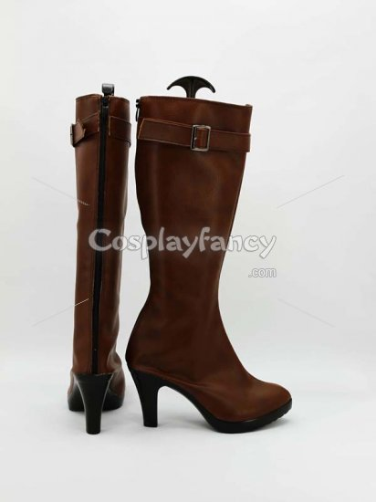 Ao No Exorcist Shura Kirigakure Cosplay Boots - Click Image to Close