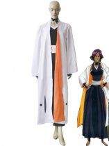 Bleach 2nd Division Captain Shihouin Yoruichi Uniform Cosplay Costume