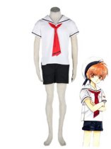 CardCaptor Sakura Cosplay Boys Summer Cosplay Costume Outfit
