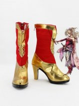 Dissidia Final Fantasy Terra Branford Cosplay Boots
