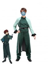 Gundam 00 A-LAWS Male Soldiers Cosplay Costume