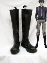 Karneval Jiki Black Long Cosplay Boots