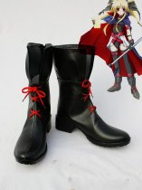 Magical Girl Lyrical Nanoha Cosplay Fate Imitated Boots