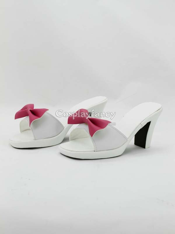 Monogatari Shinobu Oshino Hight Heel Cosplay Shoes