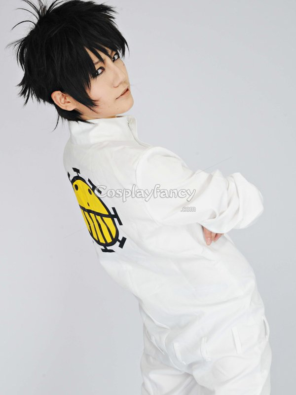 One Piece Cosplay Trafalgar Law White Cosplay Costume ...