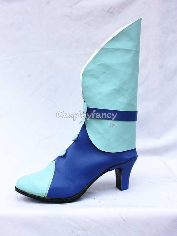 Pretty Cure Cure Marine Blue Cosplay Boots