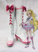 Pretty Cure Cure Rhythm White Cosplay Boots