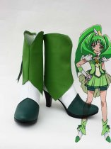 Smile Pretty Cure Midorikawa Nao/Cure March Green Cosplay Boots
