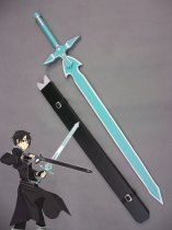 Sword Art Online Kirigaya Kazuto Wood Cosplay Sword Dark Repulsor