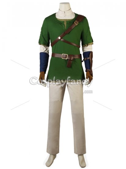 legend of zelda twilight princess link cosplay costume outfit US