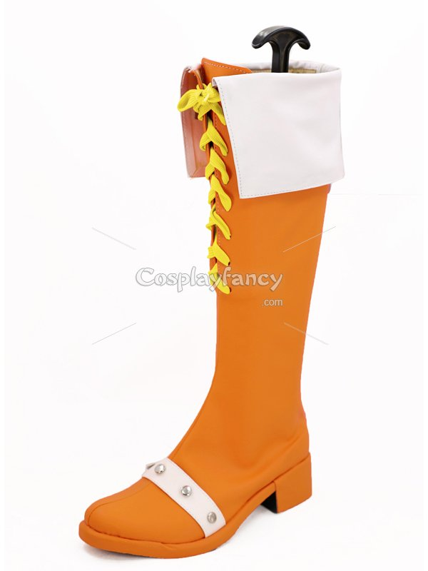 The Seven Deadly Sins Diane Orange Cosplay Boots