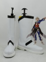 Touhou Project Cosplay Rinnosuke Morichika White & Black Cosplay Boots