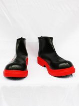 Vocaloid Cosplay Kasane Teto Artificial Leather Shoes