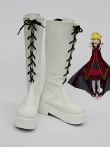 Vocaloid Fate Rebirth Kagamine Len White Cosplay Boots