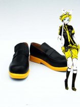 Vocaloid Len/Rin Black and Yellow Cosplay Shoes
