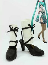 Vocaloid Project Diva F Hatsune Miku Black Cosplay Shoes