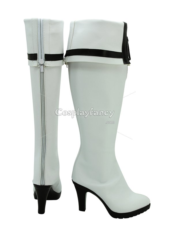 Vocaloid White Rock Shooter Cosplay Boots