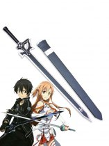 2014 Sword Art Online Kirito Wood Cosplay Sword Elucidator