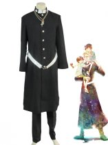 Ao No Exorcist Shiro Fujimoto Priest Uniform Cosplay Costume