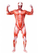 Attack on Titan Bertolt Hoover Colossal Titan Cosplay Costume