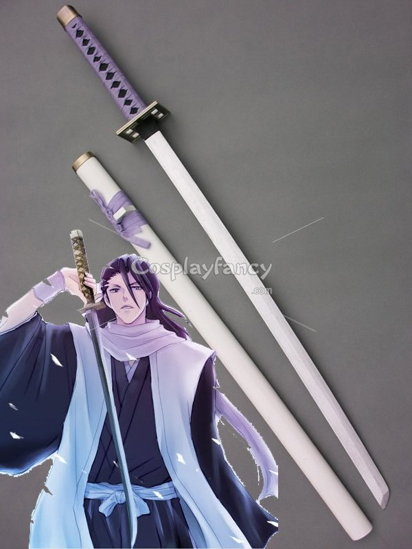 product tag kuchiki byakuya wood cosplay sword