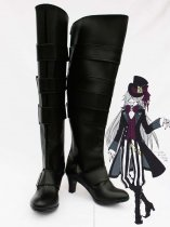 Black Butler Cosplay UnderTaker High Heel Cosplay Boots