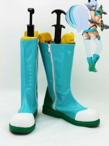 BlazBlue Makoto Nanaya Light Blue Cosplay Boots