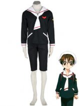 Cardcaptor Sakura Cosplay Tomoe Primary School Boys Winter Cosplay Costume
