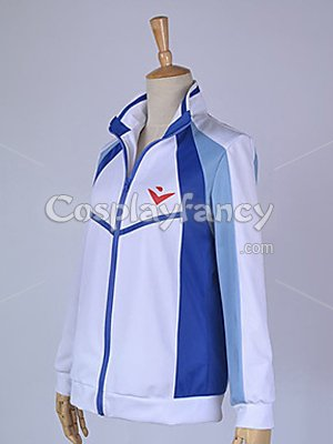 Free! Iwatobi High School Swimming Team Uniform Cosplay Costume/Coat - Click Image to Close