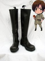 Hetalia Cosplay Axis Powers South Italy Black Cosplay Boots
