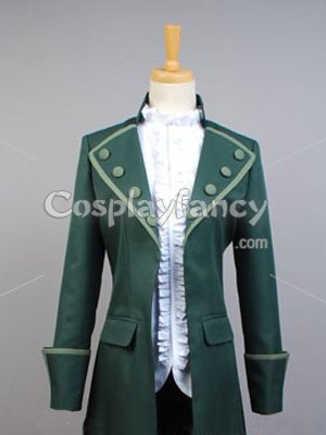 K Project Cosplay Adolf K. Weismann Green Cosplay Costume - Click Image to Close