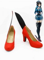 Kantai Collection Fleet Girls Takao Red & Black Cosplay Shoes