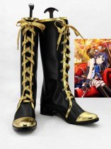 LOVE LIVE! Sonoda Umi Black Gold Cosplay Boots