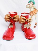 Macross Frontier Ranka Lee Red Cosplay Shoes