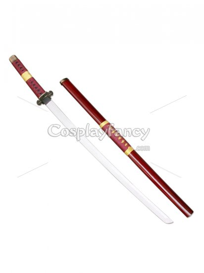 New One Piece Cosplay Roronoa Zoro Whole 3 Cosplay Weapon Wood Swords - Click Image to Close