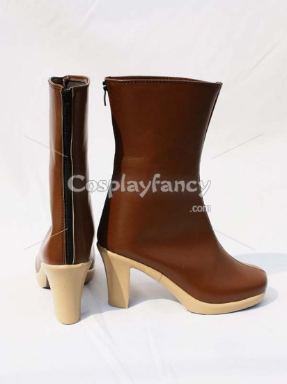 One Piece Cosplay Trafalgar Law Short Boots - Click Image to Close