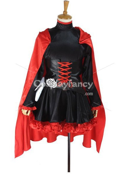 RWBY Red Trailer Ruby Rose Cosplay Costume  sc 1 st  Cosplay costume & RWBY Red Trailer Ruby Rose Cosplay Costume [RWBY002] - US$109.00