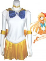 Sailor Moon Cosplay Sailor Venus Suit Cosplay Costume
