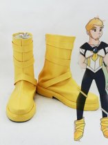 Sailor Moon Male Version Of Tsukino Usagi Yellow Cosplay Boots