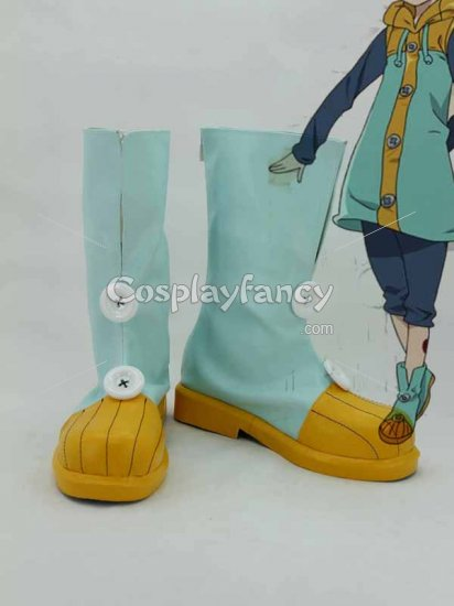 NEW Seven deadly sins Meliodas cosplay shoes boots Custom Made Hot Sell