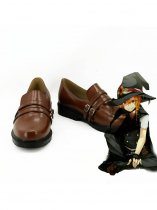 Touhou Project Kirisame Marisa Brown Cosplay Shoes