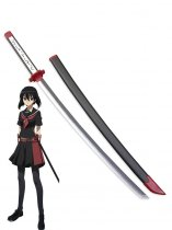 Akame Ga Kill! Kurome Black Cosplay Sword