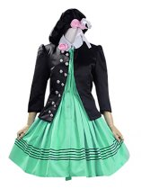 Amnesia Cosplay Heroine Green Cotton Cosplay Costume/Dress