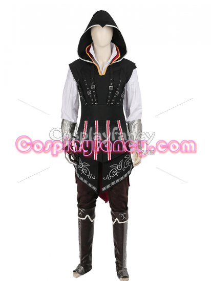 Assassin's Creed Ezio Mens Cosplay Costume - Click Image to Close