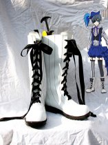 Black Butler Book of Circus Ciel Phantomhive White Cosplay Boots