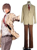 Death Note Cosplay Light Yagami/Kira Cosplay Costume