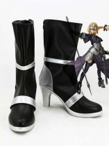 Fate/Apocrypha Ruler Black & Silver Cosplay Boots