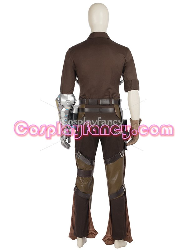 Game Overwatch McCree Cosplay Costume