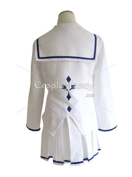 Guilty Crown Ouma Mana School Uniform Cosplay Costume