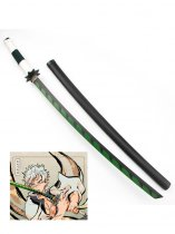 Kimetsu no Yaiba Shinazugawa Genya Cosplay Wood Sword